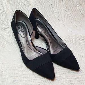 Extreme Comfort Black Heels